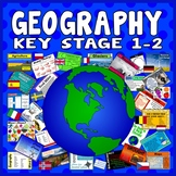100 KEY STAGE 1-2 GEOGRAPHY ACTIVITIES GAMES STARTERS TEACHING RESOURCES