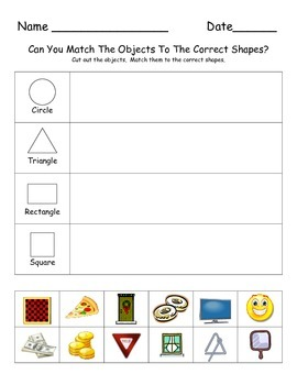 100 Kindergarten Math Worksheets that go along with the Common Core