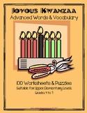 100 Kwanzaa Worksheets Grades3-7