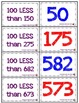 100 Less Memory Game - Aligned with Common Core Standards