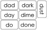100 Letter D Word Articulation Flashcards.  Speech Flashcards