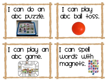 """100 Literacy Workstation """"I Can"""" Task Cards"""