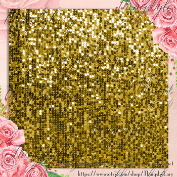 100 Luxury Shimmering Sequin Papers