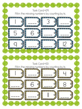 Math Task Cards (100 Common Core activities)