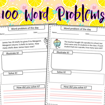 100 Math Word Problems