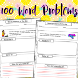 100 Math Word Problems