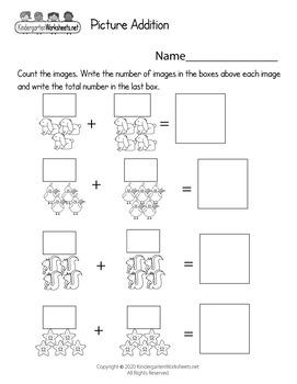 Math Worksheets for Kindergarten (100 Worksheets)