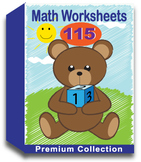Math Worksheets for Kindergarten (100 Worksheets)