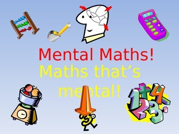100 Mental Maths starters!