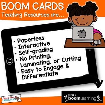 100 More 100 Less - Numbers up to 1,200 Boom Cards (Second Grade TEKS)