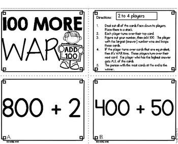 100 More War Game