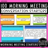 100 Morning Meeting Conversation Starters!