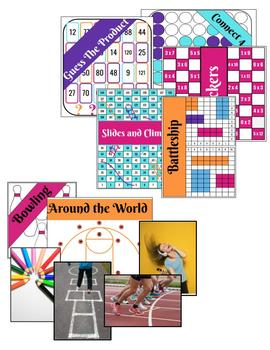 100 Multiplication Games and Activities for Practicing Multiplication Facts