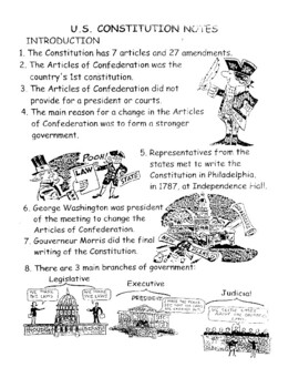 100 Notes of the Constitution