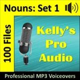 100 Nouns   Audio Clips   Sound Files   MP3s   Animals   F