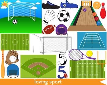 100 PNG-sport clip art-Digital Clip Art - 300 dpi 059