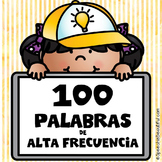 High Frequency Words in Spanish (Palabras de Alta Frecuenc