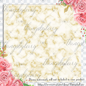100 Pastel Marble Texture Digital Papers