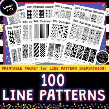 100 Pattern Designs - 10 Handouts