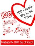 100 People We Love