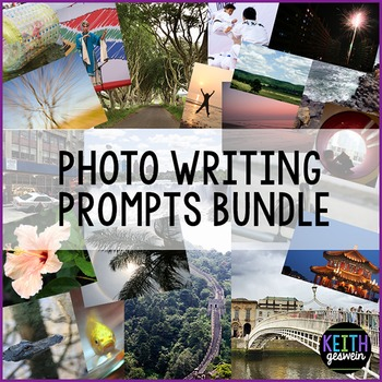 100 Photo Writing Prompts: Quick & Fun Writing Activities