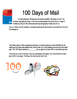 100 Pieces of Mail
