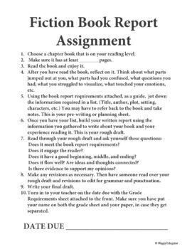 english reading report assignment All these worksheets and activities for teaching writing a report have been designed by english  worksheets  writing a report  report based on reading,.