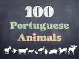 100 Portuguese Animals PowerPoint