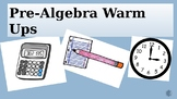 100 Pre-Algebra Warm-Ups to Build Confidence