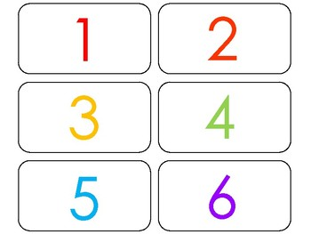 image about Printable Numbers Flashcards named 100 Printable Rainbow Quantities Flashcards. Quantities and Counting.