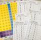 """100 """"Printable Take & Go"""" Hundred Chart Activities"""
