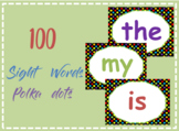 100 Printable sight words