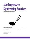 100 Progressive Sightreading Exercises