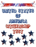 100 Question United States Citizenship Test