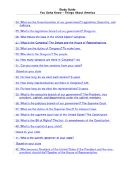 100 Questions and Answers About America