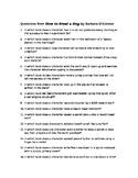 100 Questions from How to Steal a Dog by Barbara O'Connor