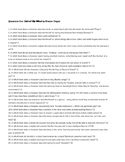 100 Questions from Out of My Mind by Sharon Draper