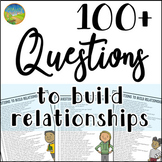 100+ Questions to Build Relationships - Distance Learning
