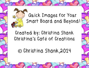 100 Quick Images for Your Smart Board and Beyond!