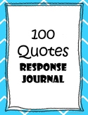Writing Prompts - 100 Quotes for Critical Thinking