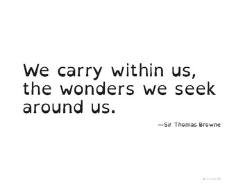 100 Quotes of Wonder, Curiosity, Kindness & Encouragement
