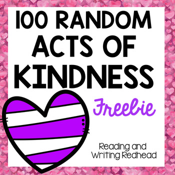 100 Random Acts of Kindness FREEBIE