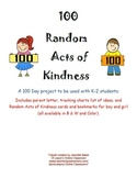 100 Random Acts of Kindness for Hundred Day