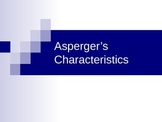 Powerpoint Presentation on the characteristics of Aspergers