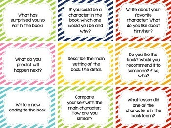 100 Reading & 100 Writing Prompts BUNDLED