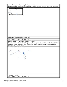100 Ready-to-Use Geometry Writing Prompts