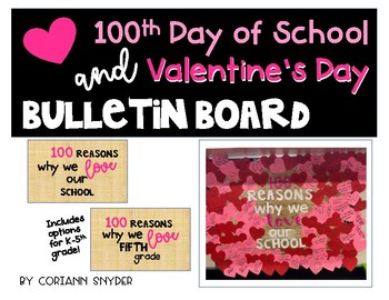 100 Reason Why We LOVE Bulletin Board