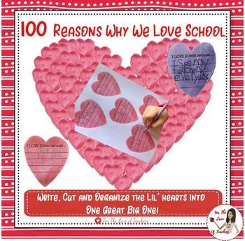 100 Reasons Why We LOVE School