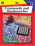 100 Reproducible Activities Crosswords & Wordsearches