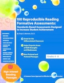 100 Reproducible Reading Formative Assessments Portfolio Assessments ELA